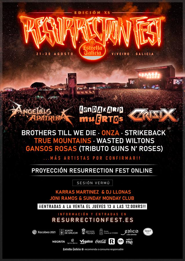Cartel de Resurrection Fest XS